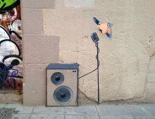 Cualquier lugar es bueno para cantar. Barcelona