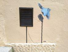 Cualquier lugar es bueno para cantar. Lleida